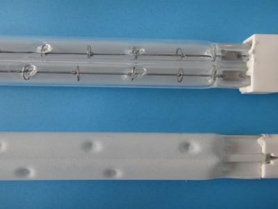 Lampe chauffante infrarouge à deux tubes