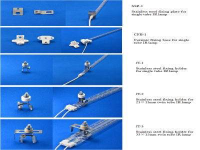 Mounting Clamps/Fixture for Infrared Heater Lamps